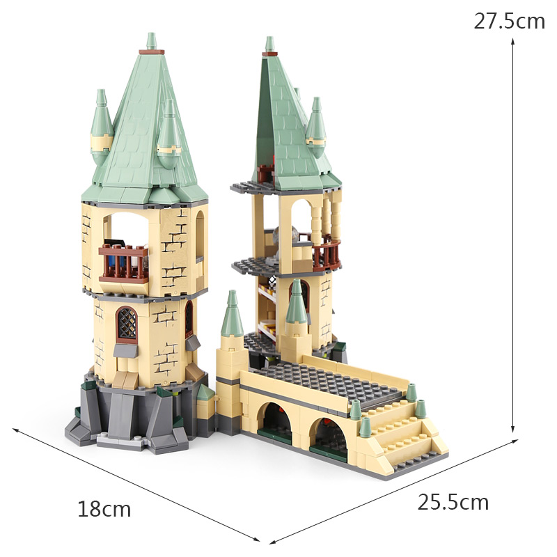 Lepin 16028 Harry Compatible With Legoingly 4867 Hogwarts Set Potter Building Blocks Bricks Educational Kids Toys Birthday Gifts