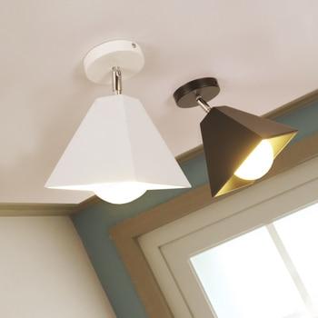 Simple modern ceiling lights Korean Nordic creative personality lamp aisle corridor hallway lights warm and romantic single lamp