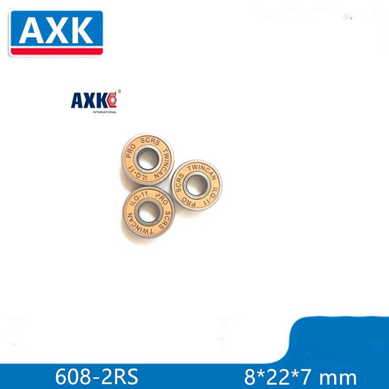 8 Pieces TWINCAM ILQ 11 Miniature Ball Radial Ball Bearings Good Quality Skating Bearings ABEC 11 608 2RS 8X22X7 MM|bearing bearing|bearings skatebearings 608-2rs - AliExpress