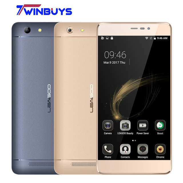 "Leagoo Shark 5000 Mobile Phone 5000mAh 5.5"" HD MTK6508A Quad Core Android 6.0 1GB RAM 8GB ROM OTG 13MP Fast charger Smartphone"