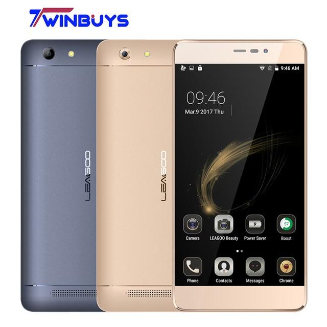"Leagoo Shark 5000 Mobile Phone 5000mAh 5.5"" HD MTK6508A Quad Core Android 6.0 1GB RAM 8GB ROM OTG 13MP Fast charger Smartphone"