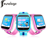 Funelego Smart Baby GPS Watch With Wifi Positioning 1.54 Inch Touch Screen SOS Tracker Safe Anti Lost Kids Q54 Children Watches