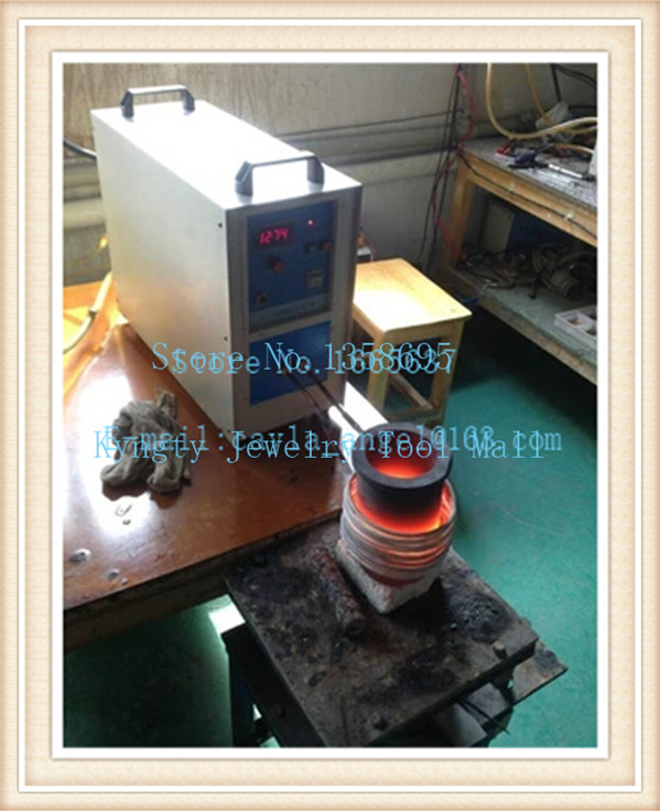 High Frequency Electric Crucible Melting Furnace Mini Induction Melting Furnace 2kg Capacity Gold Induction Melting Furnace free shipping jewelry making tools 110v 2kg mini gold melting furnace electric melting furnace with tong crucible goldsmith