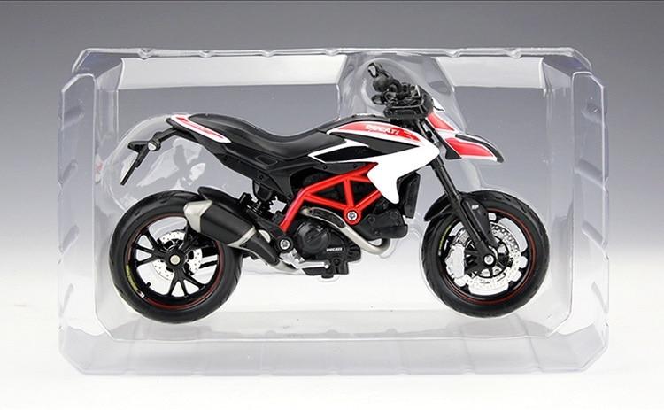 New Maisto 1:12 DUCATI Hypermotard SP 2013 Motorcycle Metal Alloy Model Bike Toy