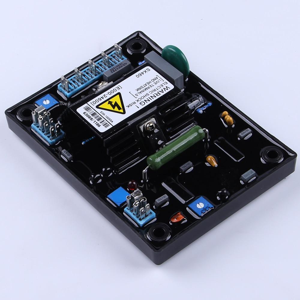 High Quality Sx460 Avr Brushless Alternator Voltage Stabilizer 110v Wiring Diagram 220v Development Board Adjuster For Generator Regulator In