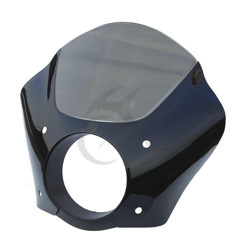Black Smoke Gauntlet Headlight Fairing Mask For Harley Sportster XL Street XG 500 750 883 Motorcycle mtsooning timing cover and 1 derby cover for harley davidson xlh 883 sportster 1986 2004 xl 883 sportster custom 1998 2008 883l
