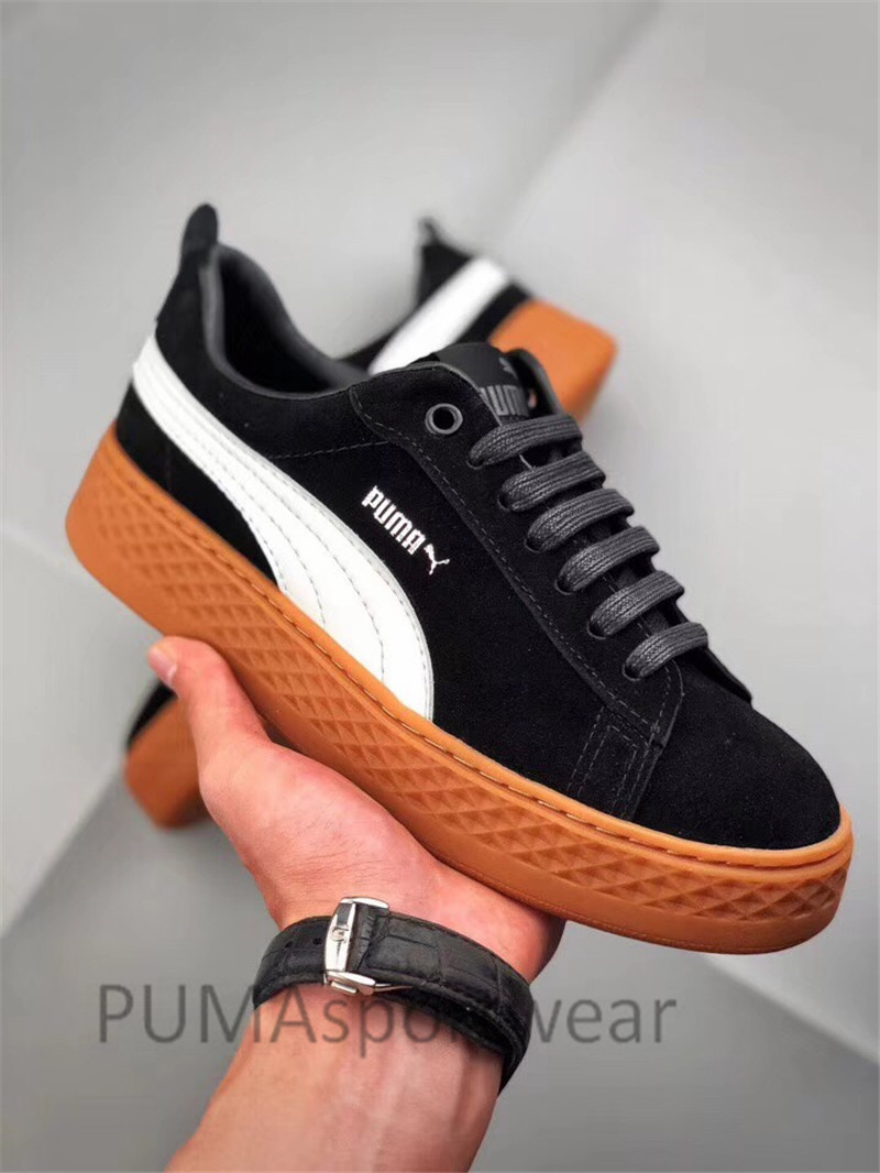 2018 New Arrival Original PUMA Smash Platform SD Women s Shoes Breathable  Sneakers Badminton Shoes Size35 39-in Badminton Shoes from Sports    Entertainment ... c8c1cc047be4