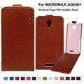 Флип Кожаный Телефон Случаях Для Micromax AQ5001 Canvas Juice 2 AQ 5001 5.0 дюймов Крышка PU Case 14 Цвета С Вертикальной магнитные