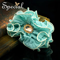 Special New Fashion Flower Wedding Hair Jewelry Crystal Girls Hair Accessories Free Shipping Gifts for Bridal Women FS150504