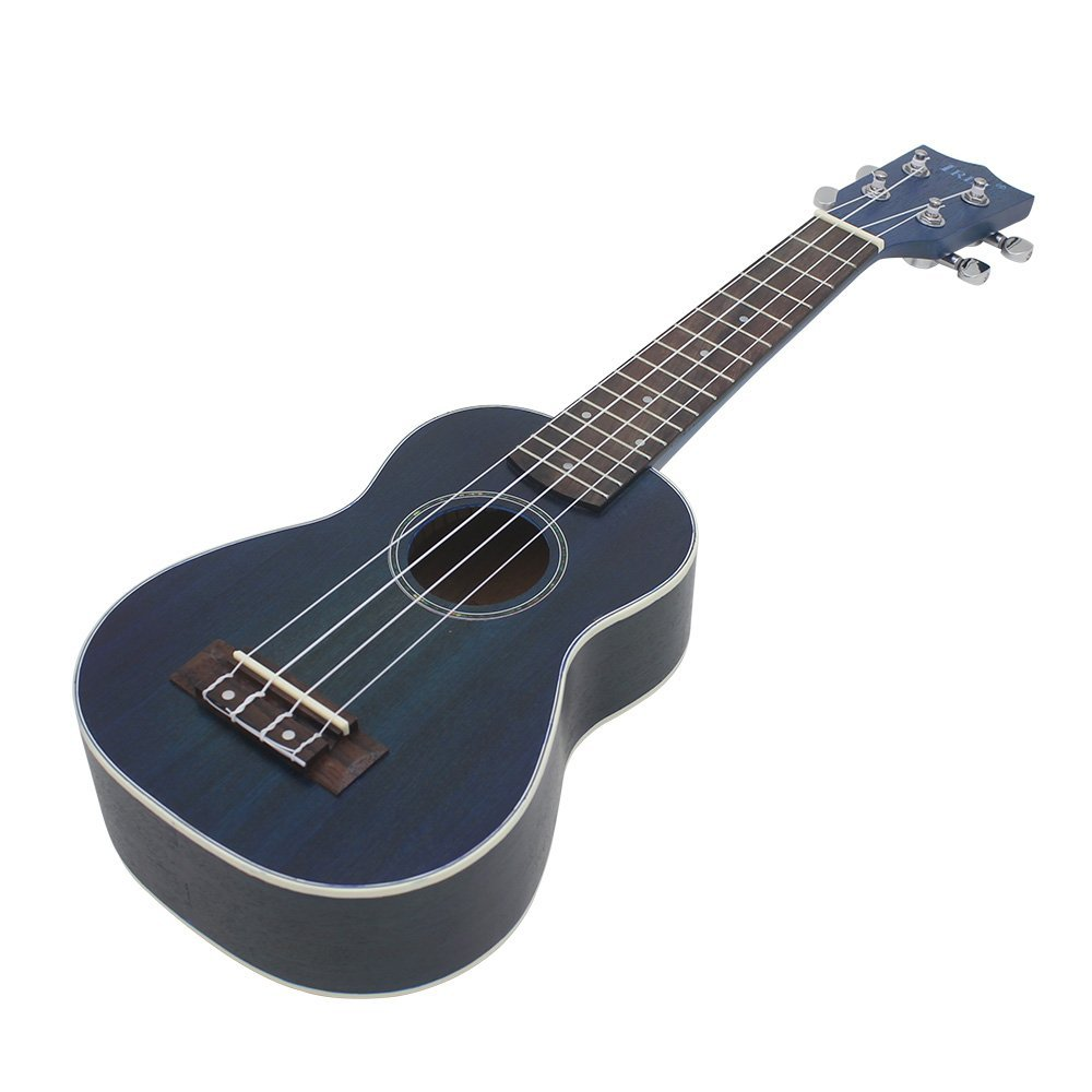 IRIN 21 Ukelele Blue Spruce Body Rosewood Fretboard 4 Strings Ukulele Stringed Instrument hlby good deal 17 mini ukelele ukulele spruce sapele top rosewood fretboard stringed instrument 4 strings with gig bag 2