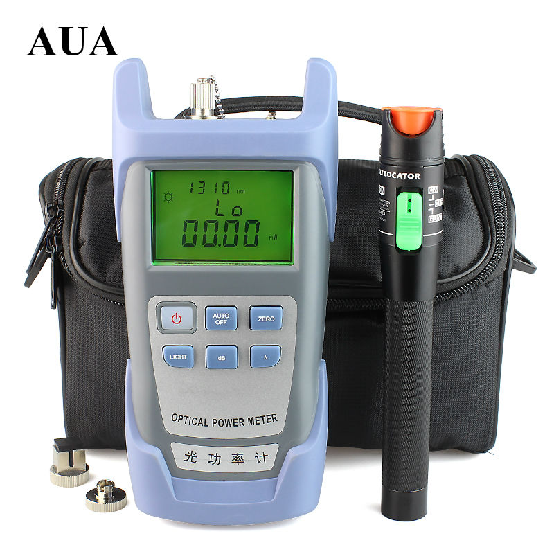 Free shipping 30mW Visual Fault Locator Fiber Optic Cable Tester and Optical Fiber Power Meter (-70dBm~+10dBm) Fiber Optic PowerFree shipping 30mW Visual Fault Locator Fiber Optic Cable Tester and Optical Fiber Power Meter (-70dBm~+10dBm) Fiber Optic Power