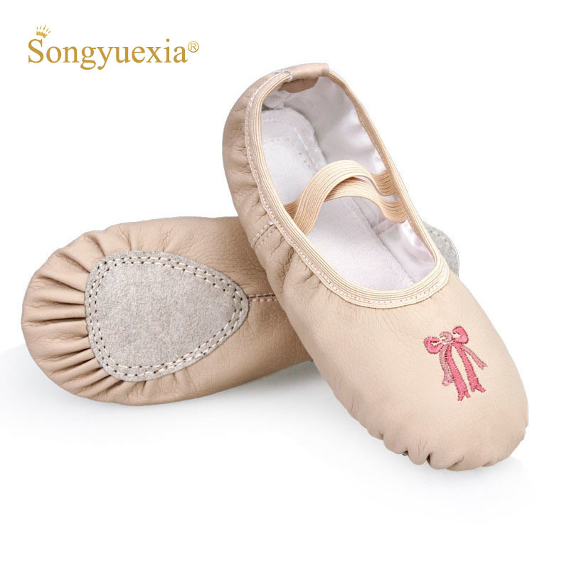 songyuexia-gils-soft-bottom-dance-shoes-pu-skin-font-b-ballet-b-font-adult-artistic-gymnastics-cotton-practice-kids-cat-claw