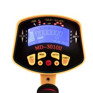 Image 2 - Détecteur de métaux souterrains Portable de haute sensibilité, recherche dor et de trésors, modèle MD 3010II