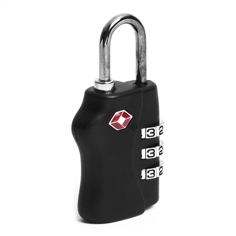 TSA 3 Digit Combination Travel Suitcase Luggage Padlock Lock