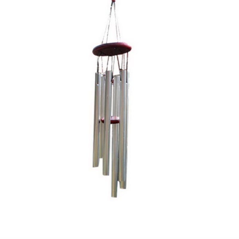Urijk Large Aluminum Multi Tube Wind Chimes Outdoor Home Decor Wooden Handmade Crafts Creative Birthday Gifts Long Wall Decor