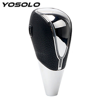 YOSOLO Touch Motion Activated Gear Stick Shift Knob Cover Auto Automatic Gear Car Styling Auto Accessories LED Car Shift Knob