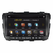 HD 2 din 8″ Car DVD GPS Navigation for Kia Sorento 2013 2014 With Bluetooth IPOD TV Radio / RDS SWC AUX IN USB