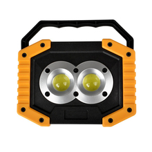 one pair work light LED Camping Lamp USB Rechargeable LED COB Work Light Waterproof Outdoor Emergency Lamp LED Work light D20 50w 3 modes floodlights rechargeable 36led light lamp red white blue light for outdoor camping work light ipx67 waterproof