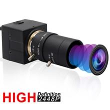 Câmera sony imx179 cctv, 8mp, usb, 5 50mm, lente cs varifocal, hd usb, caixa industrial, vigilância interna webcam usb para câmera,