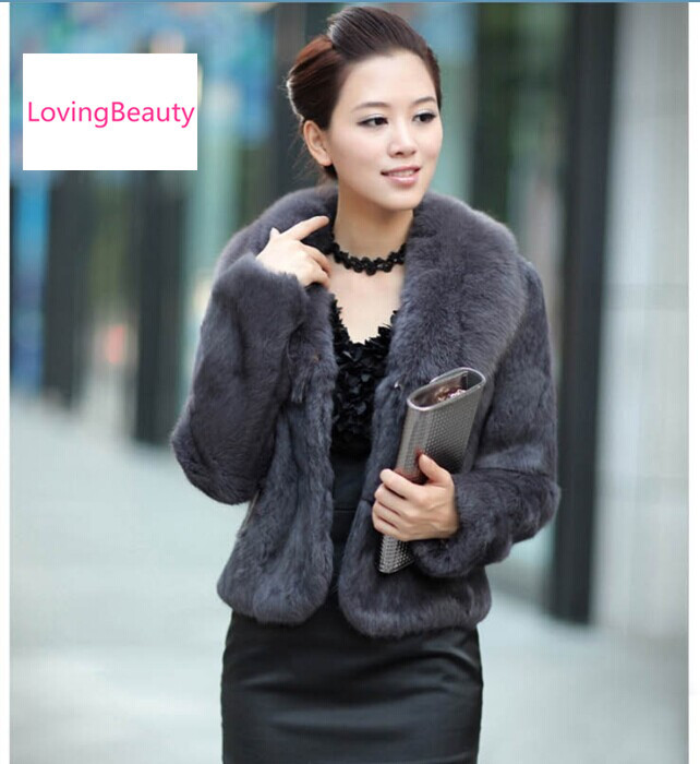 Aliexpress.com : Buy Korean Style Ladies' Short Fur Jackets Female ...