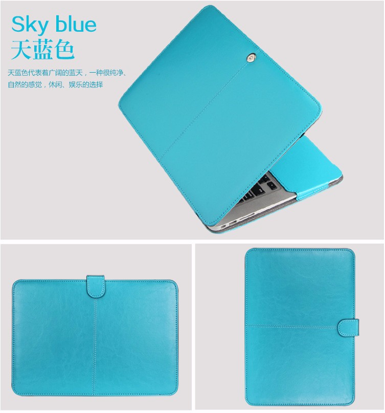 PU leather Notebook Case for MacBook 111