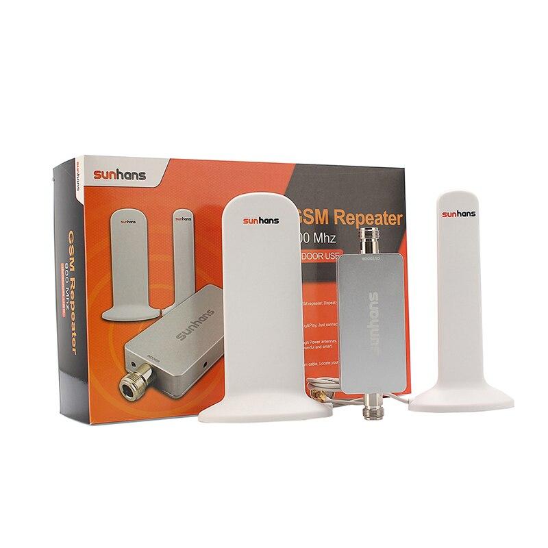 1 Set amplificateur de Signal Sunhans 800 MHz Original à Gain élevé 4G LTE amplificateur de téléphone portable livraison gratuite