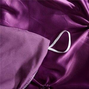 Image 5 - LOVINSUNSHINE Comforter Bedding Sets Double Flower Bed Linen US King Size Silk Duvet Cover Set AN02#