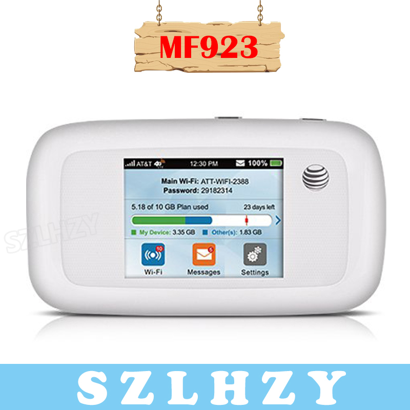 Unlocked ZTE MF923 AT&T Velocity 4G Mobile WIFI Router With SIM Card Slot 150Mbps 4G 3G Mifi Portable Pocket Hotspot 2800mAh