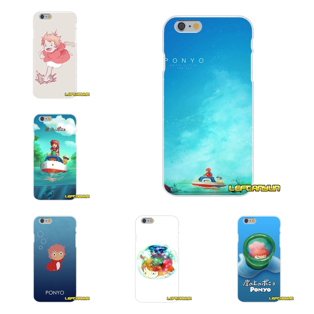 For Samsung Galaxy S3 S4 S5 MINI S6 S7 edge S8 Plus Note 2 3 4 5 Ponyo On The Cliff Soft Phone Cover Case Silicone