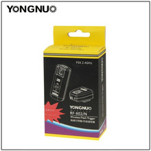 лучшая цена YONGNUO RF-602 RF602 2.4GHz Wireless Remote Flash Trigger For NIKON D3 D50 D60 D80 D90 D200 D700 D5100 D5300 SB-900 SB-800