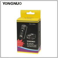 YONGNUO RF 602 RF602 2 4GHz Wireless Remote Flash Trigger For NIKON D3 D50 D60 D80