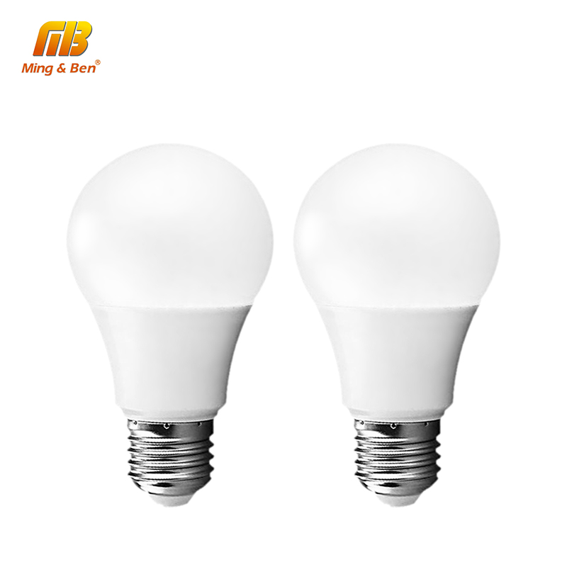 [MingBen] LED Light Bulb E27 E14 220V 240V 5W 7W 9W 12W 15W 18W Lampada Cold White Warm White LED Lamp For Living Room Bedroom led corn light e27 110v 220v 5630 smd led bulb 5w 7w 9w 12w 15w 18w 24w daylight cool white 6500k warm white 3000k