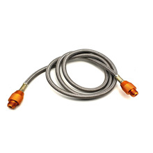 Earth Star Portable Camping Stove Bottle Extension Connecting Hose With 7/16 Male Adapters 1meters Long