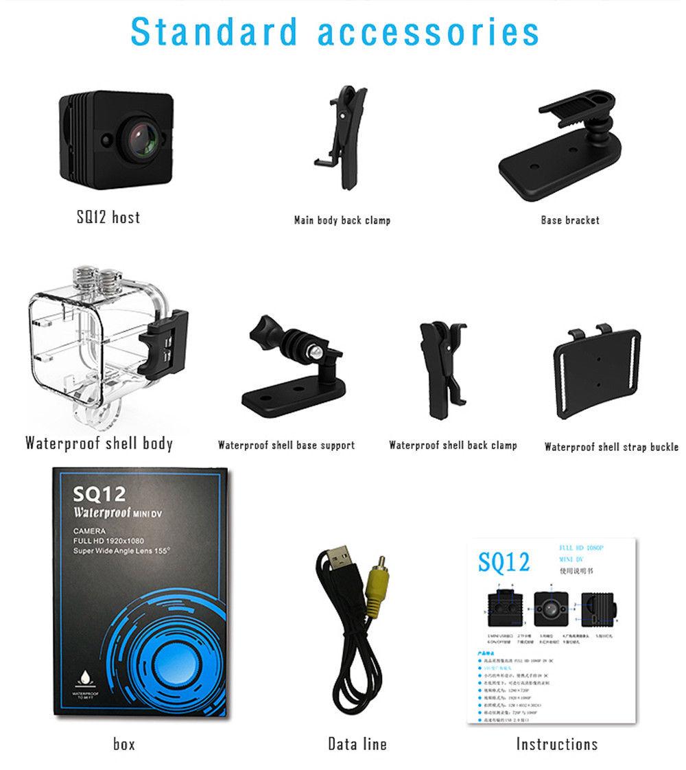 Mini Full HD 1080P DV Sport Camera Car DVR Video Recorder Camcorder CamMini Full HD 1080P DV Sport Camera Car DVR Video Recorder Camcorder Cam