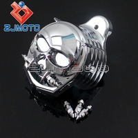 Zombie Horn Cover For Harley Horn Cover Equipped with Cowbell Horn 7719 1995 2016