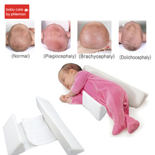Babycare Baby Pillow Adjustable Memory Foam Support Newborn Infant Sleep Positioner Prevent Flat Head Shape Anti Roll Pillow
