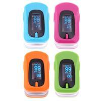 Finger Pulse Oximeter Portable Fingertip Pulsioximetro SPO2 Oximetro De Dedo Digital Fingertip Pulse Oximeter Heart Rate