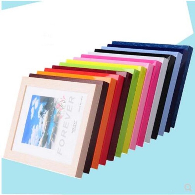 5 PCS/Set Plastic Photo Frame Mount Card Board Holder Picture ...