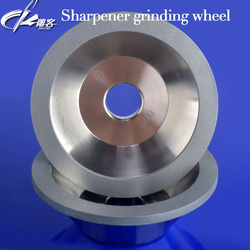 100mm Dia 20mm Bore 35mm Height Grind CNC Router Tool Diamond Wheel Cutter Carbide Metal Diamond Grinding Wheel Router Bit single point diamond dresser for wa aluminum oxide and gc silicon carbide grinding wheel truing and dressing gj006