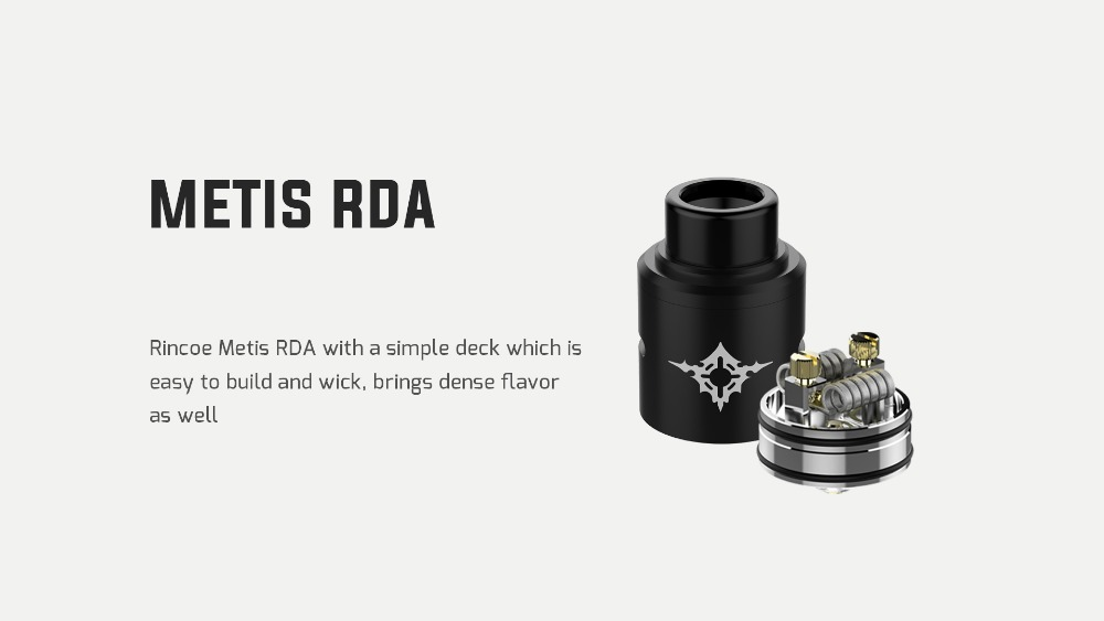 Rincoe Manto Mini RDA 90W Kit-7