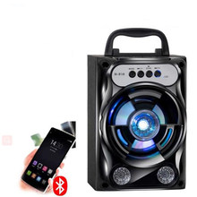 Wireless Bluetooth Speaker Home Overweight Subwoofer Outdoor Mobile Phone Mini Speaker Portable Card(China)