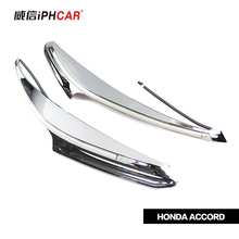 Car Styling Special Free Shipping IPHCAR External LED Daytime Running Lights for Honda Accord 8 Waterproof Universal