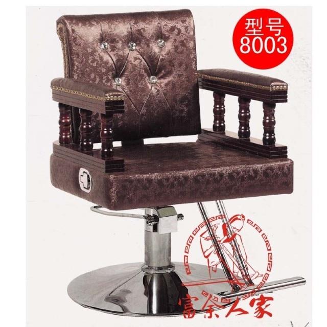 Y8003 Can Lift European Beauty Salon Haircut Stool. Extend Down The Chair.