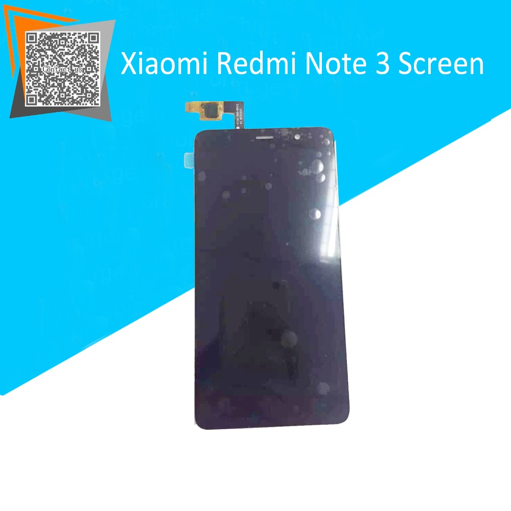 NEW Original 5.5″ For Xiaomi Redmi Note 3 LCD Display Touch Screen Full Assembly Black Replacement Parts Free Tracking