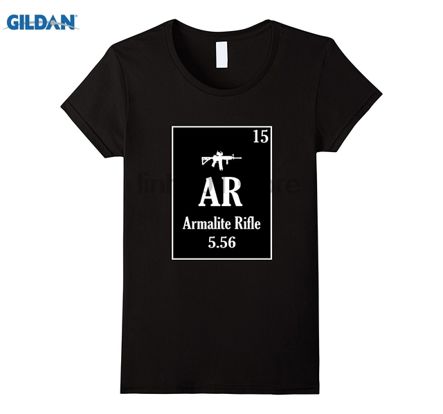 Gildan Ar 15 Shirt Periodic Table Style Sunglasses Women T Shirt In
