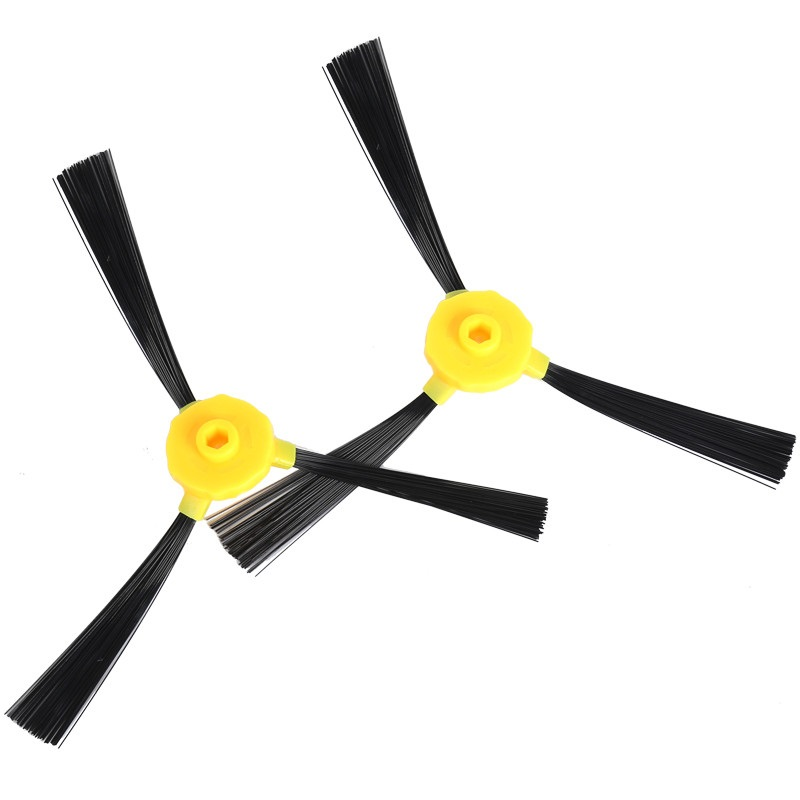 2 Pieces/lot Side Brush Vacuum Robotic Cleaner Parts For Haier T325 T320 T321 Series