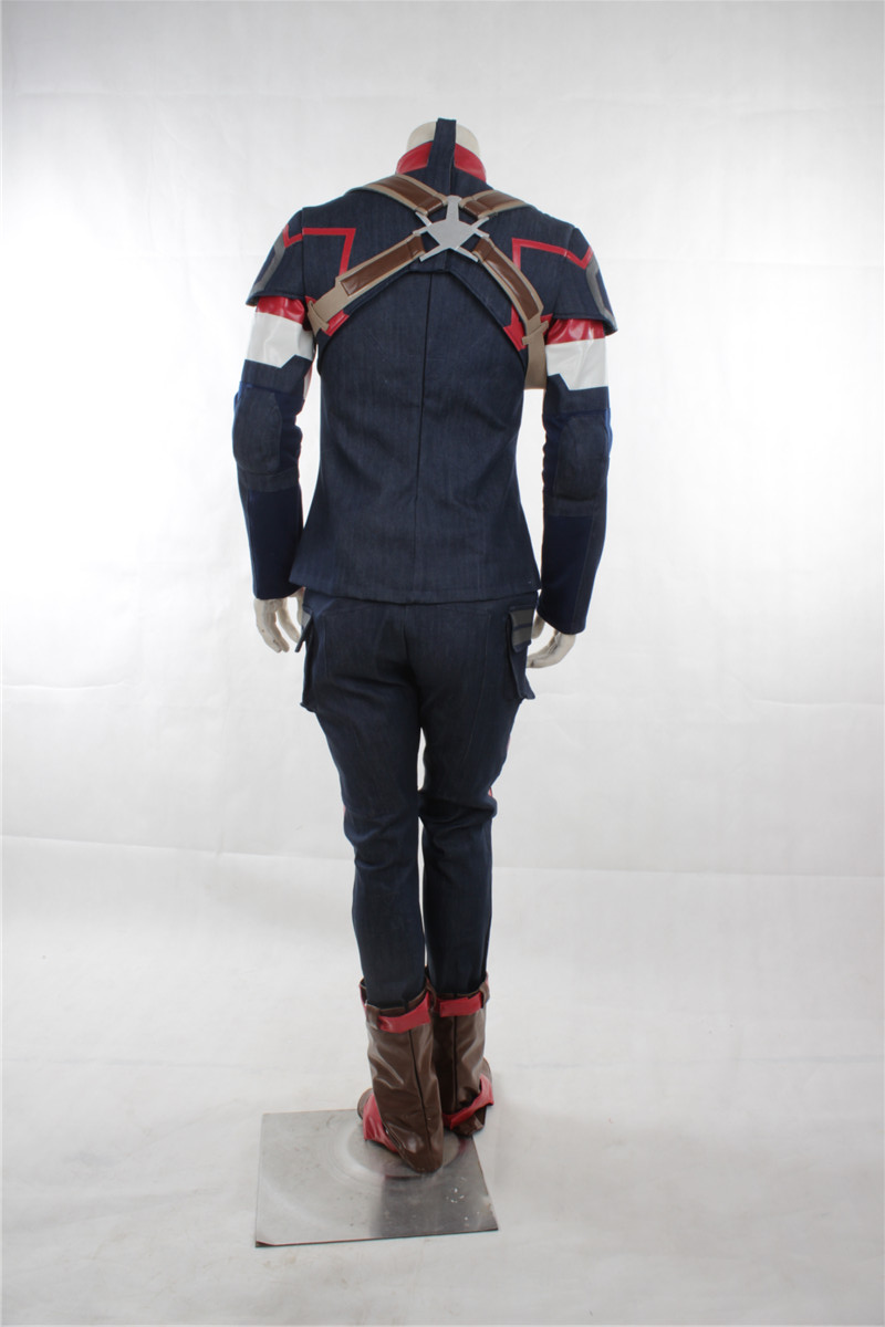 The Avenger Age of Ultron Captain America Costume Winter Soldier - Carnavalskostuums - Foto 4