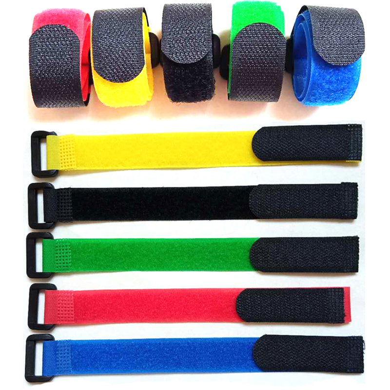 1PCS Reusable Fishing Rod Tie Holder Strap Hook Loop Cord Ties Belt Suspenders Fastener Fishing Tackle Accessories