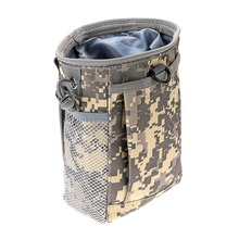 6 Color All-Purpose Nylon Waterproof Molle Military Recycle Collection Pouch Carrying
