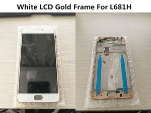 Image 2 - Tela lcd com moldura para meizu m3 note l681h, display de reposição para meizu m3 note l681h